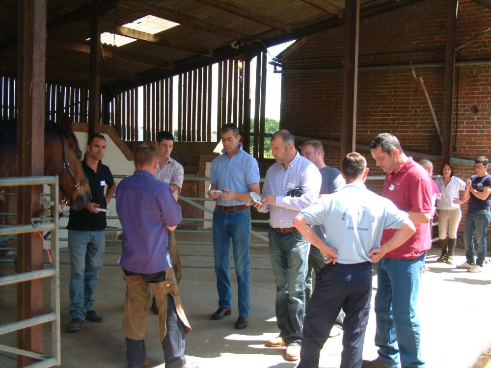Farriers on an Imprint Training Course