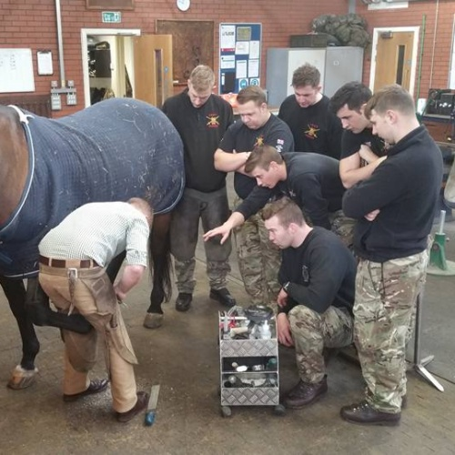 Imprint Training Course at the The Kings Troop Forge Woolwich